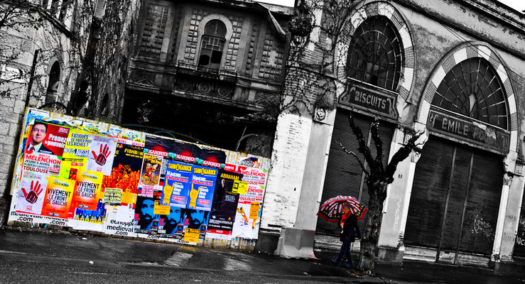 Montauban, quartier de la gare