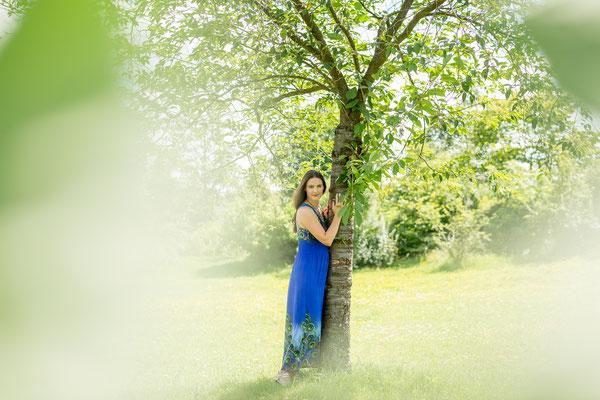 Fotoshooting im Röthelheimpark mit Model aus Wien