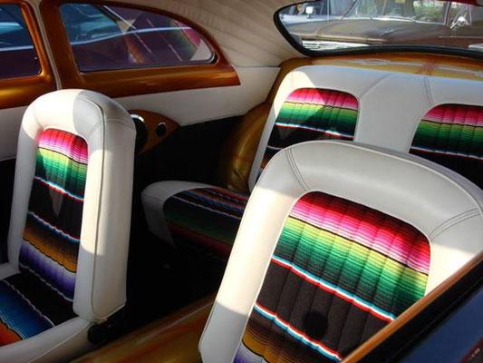 Mexican Blankts Serape Resurrecxion Cycles Inc Retro