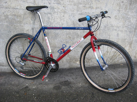 Ritchey P20 1995, Shimano Deore XT