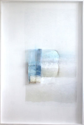 Murmure, impression digitale sur papier et voile, 100X150cm