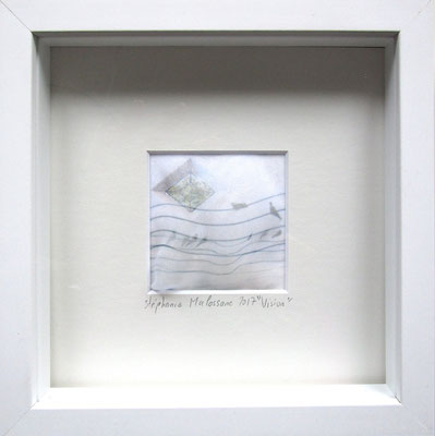 Vison, impression digitale sur voile, 15X15cm VENDU/SOLD