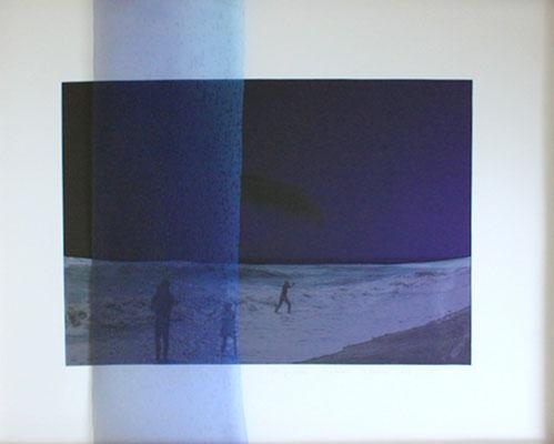 Il y aura, impression digitale sur papier et voile, 50X50cm