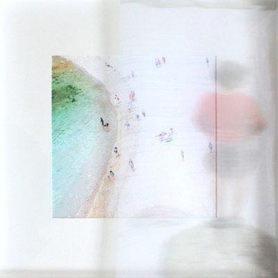 Ailleurs, impression digitale sur papier et voile, 50X50cm