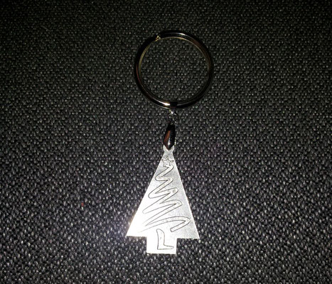 Dancing Christmas Trees keychain for Dance 10