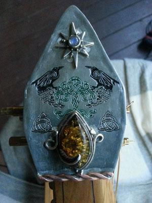 Custom harp cap