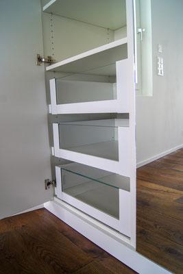 Innenschubladen Legrabox mit Glasfront