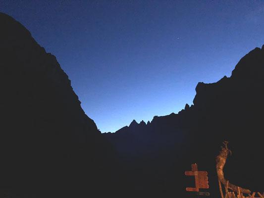 Die blaue Stunde über dem Fählensee... magisch!