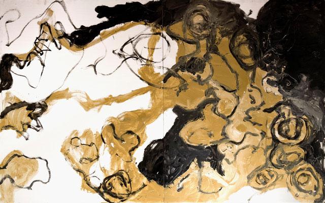 """""""Memoria"""", 162x 260 cm. 2009"""