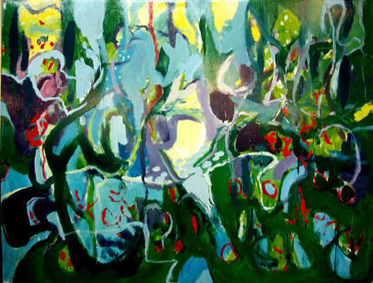 """""""El bosque de Caperucita"""", 146x114cm. 2009"""