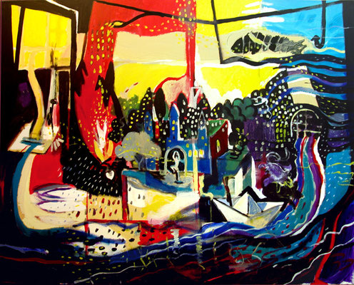 """""""Soldadito de plomo"""", 162x130cm. 2009"""