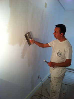 Alisar gotele como quitar el gotel pintor de valencia - Como tapar el gotele ...