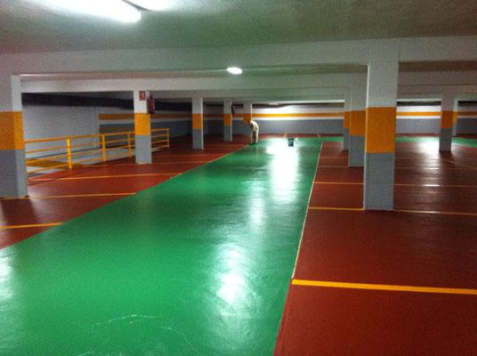 pintura epoxi verde