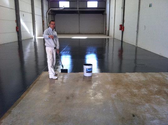 aplicar pintura epoxi