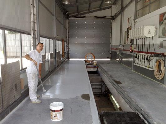 Pinturas epoxi suelos pintura epoxi pintor de valencia - Pintura de garaje ...
