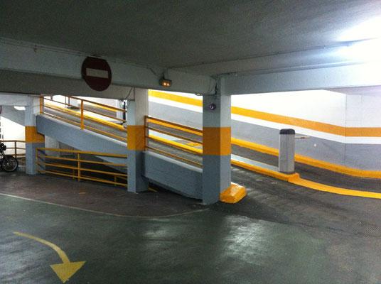presupuesto pintar parking