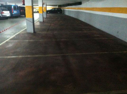 Presupuestos pintura presupuesto pintar pintor de valencia for Pintura suelo parking