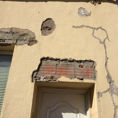 reparaciones en fachadas