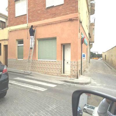 pintura fachadas valencia
