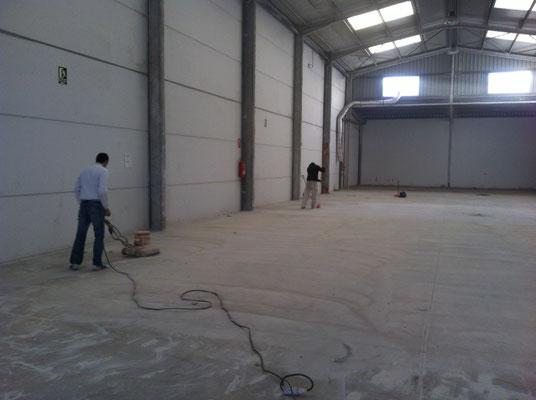 preparacion pulido suelo