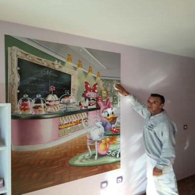 vinilos disney para pared