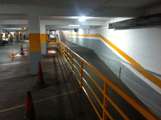 pintar parking valencia