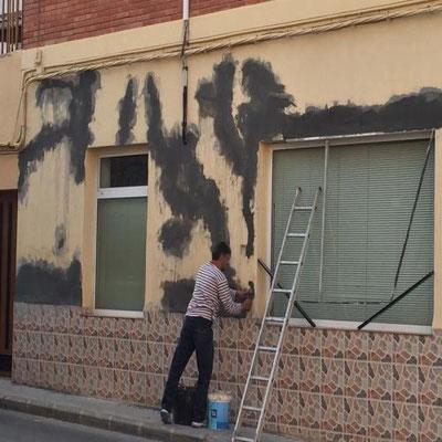 arreglos fachada con sika