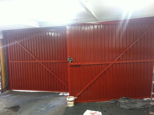 esmaltado puertas