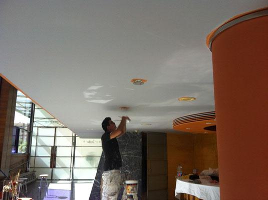 como pintar un hotel