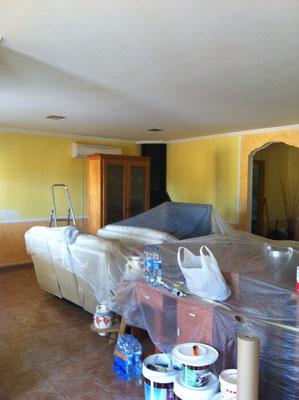 preparativos pintura