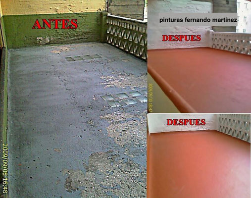 arreglar terraza