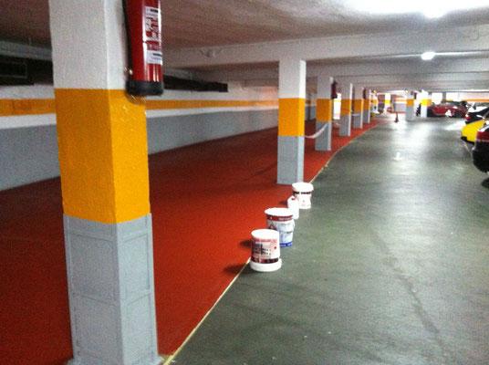 pintar suelo epoxi