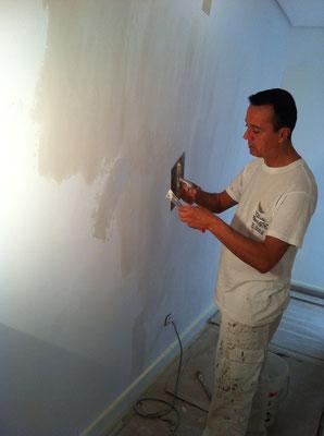 Alisar gotele como quitar el gotel pintor de valencia - Como alisar paredes ...