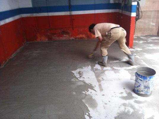 Presupuestos pintura presupuesto pintar pintor de valencia - Pintar suelo de hormigon ...