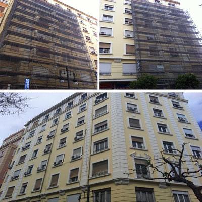trabajos pintura fachada