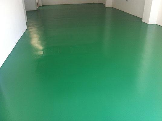 pintura epoxi suelo garaje