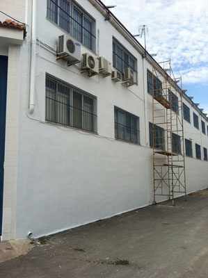 pintura exterior pared