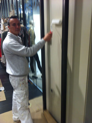 pintor tienda