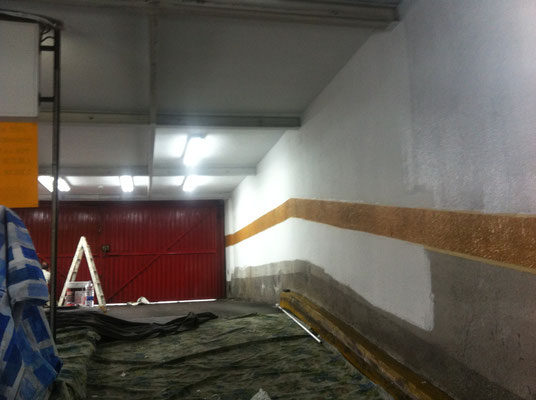 pintar garaje paredes