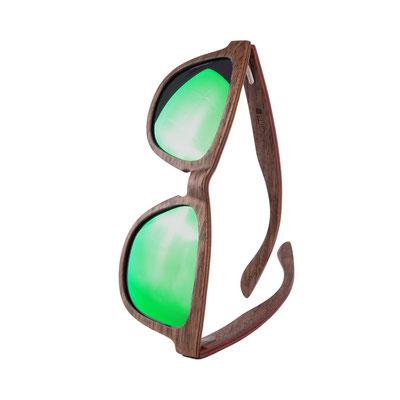 Geschenksidee Sonnenbrille AERO Grün