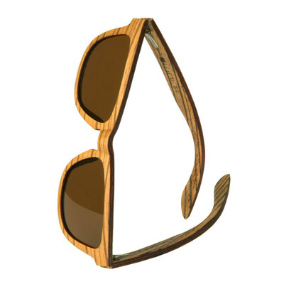 Geschenk Sonnenbrille AERO Zebra