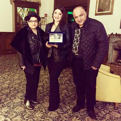 """3. posto """"Il Biscione d'oro"""" a Pescia - con i Manager Gina e Generoso Azzato della GRAGE"""
