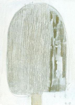 The Beautiful Healing Tree series, 2015, acrylic on canvas, 33 x 24 cm