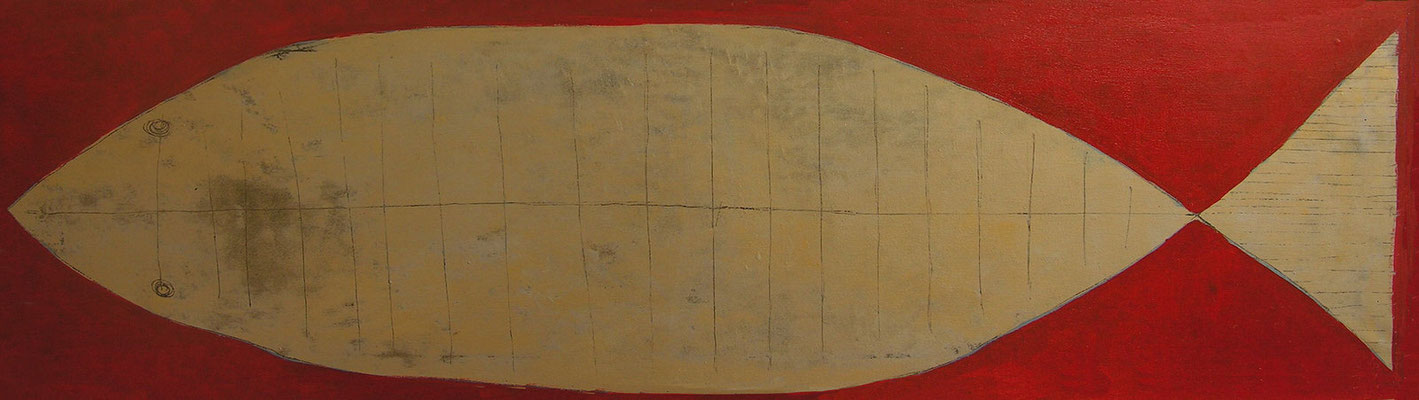 Pez oro, 40x140 cm