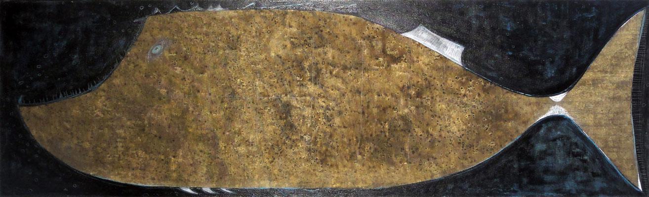Monstruo de las Profundidades, 40x140 cm