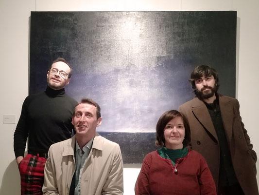 La noche y sus etcéteras - Antonio Praena, Juan Gallo, Eva Chinchilla, Constantino Molina, Espacio O_Lumen