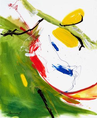 Im Grün _ 110 x 90 cm