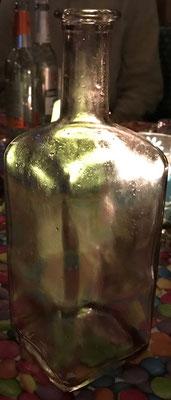 Die letzte Flasche vom Opa ist leer