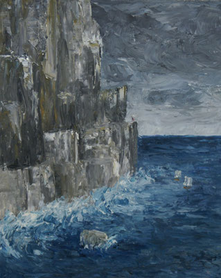 """""""Brunhild"""" Öl auf Leinwand, 50x90, 2009 Preis auf Anfrage"""