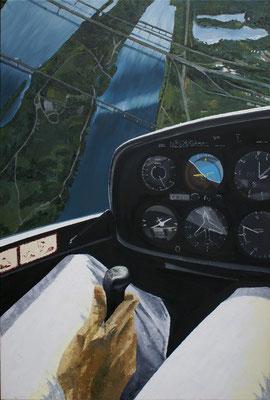 """""""Alta Vista"""", Öl auf Leinwand, 80x120"""